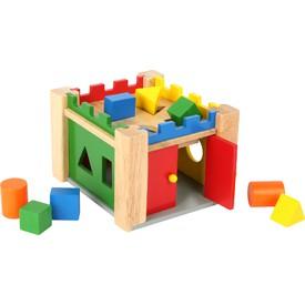 Small Foot Vkládací dřevěný hrad