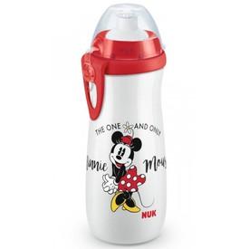 NUK Dětská láhev Sports Cup Disney Mickey 450 ml bílá
