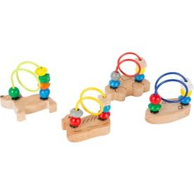 Small Foot Zvířátkový minilabyrint 1ks